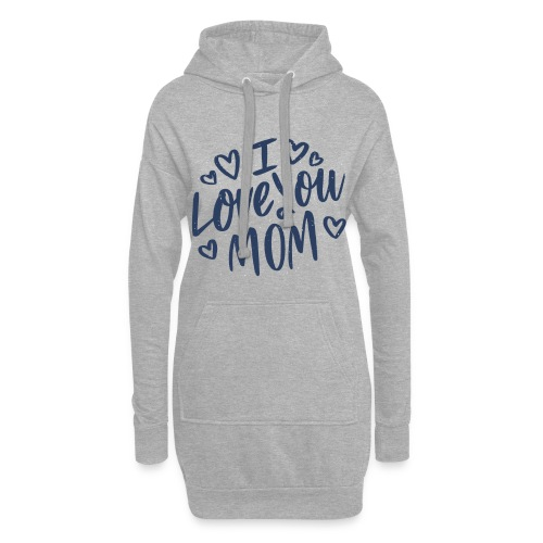 Vexels I Love you mom Shirt - Hoodie-Kleid