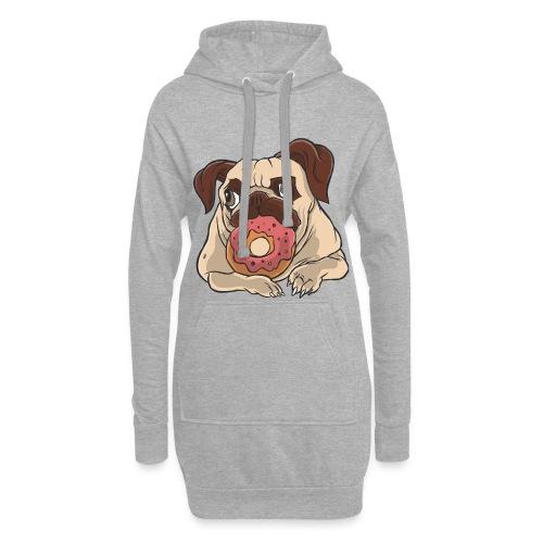 Beste Hund Hunde donut Mops - Hoodie-Kleid