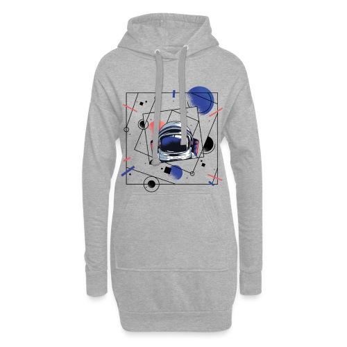 Beste Astronaut Weltraum Designs - Hoodie-Kleid