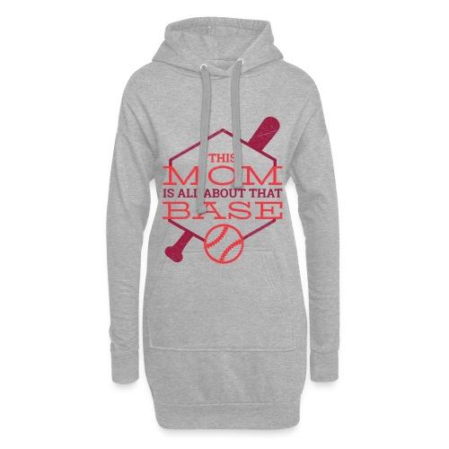 Bestes Baseball Mamma Design - Hoodie-Kleid