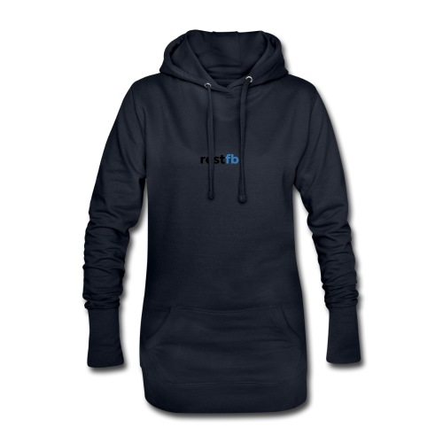 RestFB logo black - Hoodie Dress