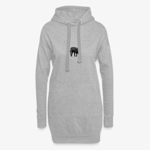 Reel elephant - Sweat-shirt à capuche long Femme
