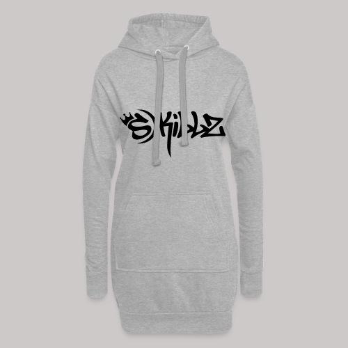S Killz schwarz - Hoodie-Kleid