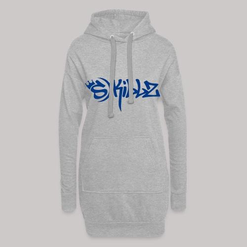 S Killz blau - Hoodie-Kleid