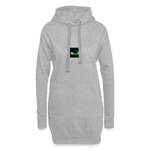 Green eye - Hoodie Dress