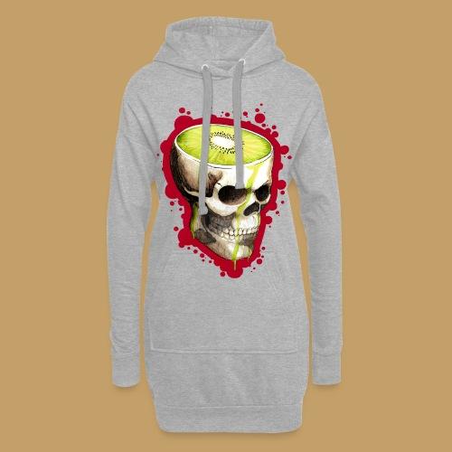 Czacha Kiwi - Długa bluza z kapturem