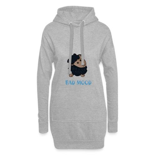 Badmood - Gaspard le petit mouton noir - Sweat-shirt à capuche long Femme