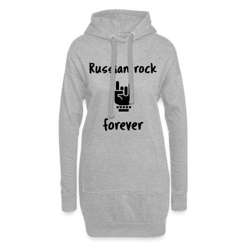 Russian rock forever BLCK - Hoodie-Kleid