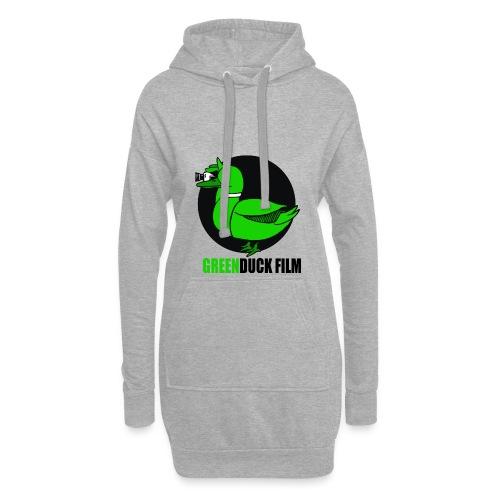 Greenduck Film Logo w. black letters - Hoodie-kjole