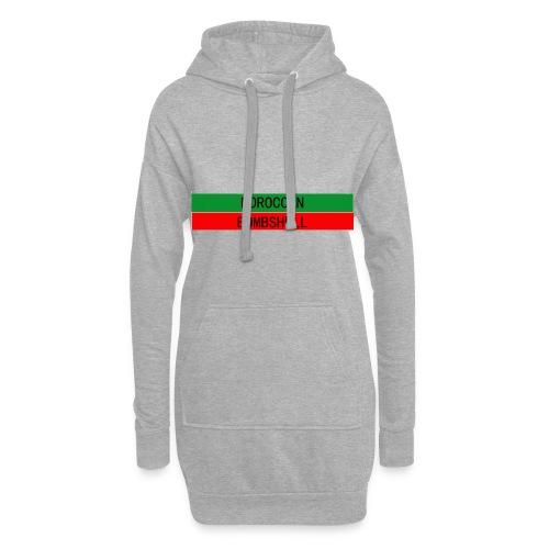 Moroccan Bombshell - Hoodie-Kleid
