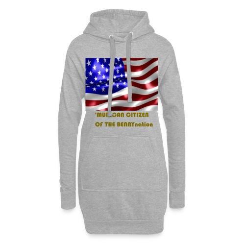 AMERICAN BENNYBOY90 MERCH - Hoodie Dress