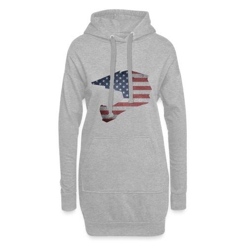 DOWNHILL HELM USA STYLE - Hoodie-Kleid