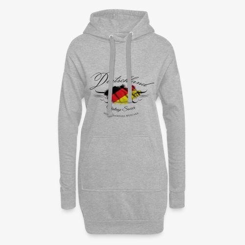 Vintage Deutschland - Hoodie-Kleid