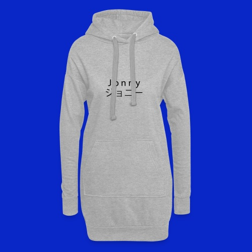 J o n n y (black) - Hoodie Dress