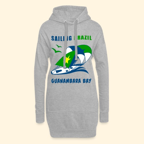 Sailing Brazil - Hoodie Dress