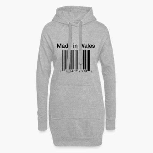 Made in Wales - Hoodie Dress