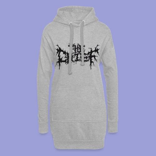 The Chief Metal Logo bw - Hoodie-Kleid