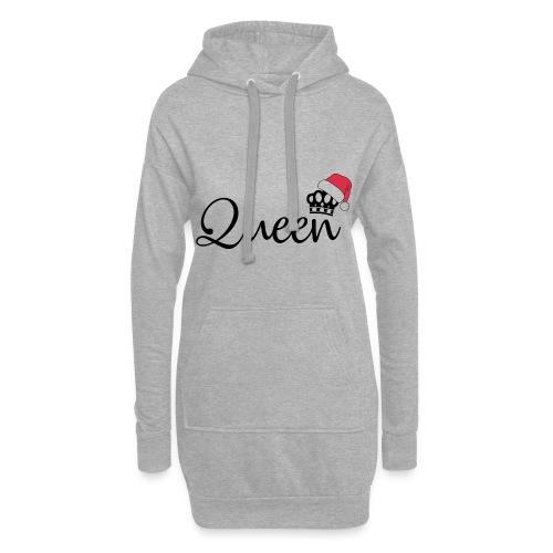 Queen Christmas - Sudadera vestido con capucha