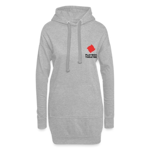 Red Playbox Logo Stacked - Hoodie Dress