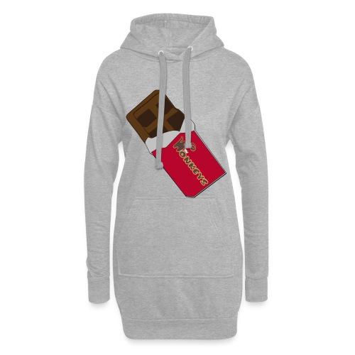The Wonkeys Chocolate Edition - Vestitino con cappuccio