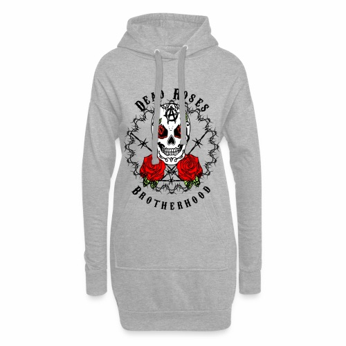 Dead Roses 2nd Logo - Hoodie Dress