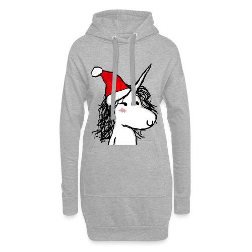 unicorno Natale - Vestitino con cappuccio
