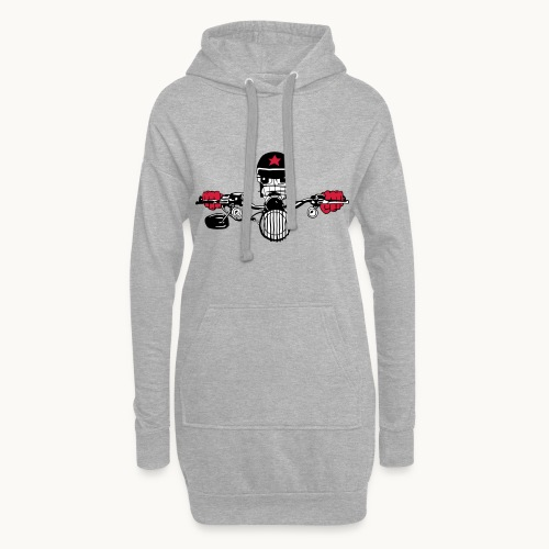 Motard Micky on the Road - Sweat-shirt à capuche long Femme
