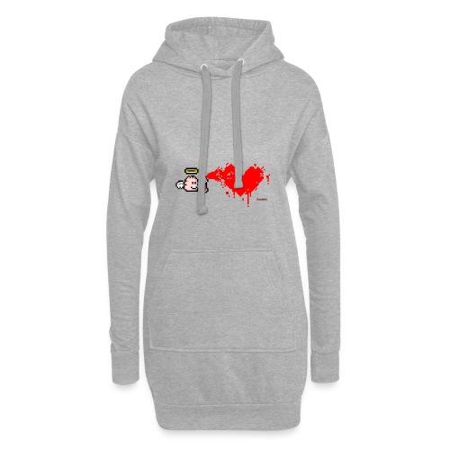 Graffiti Heart - Hoodie-Kleid