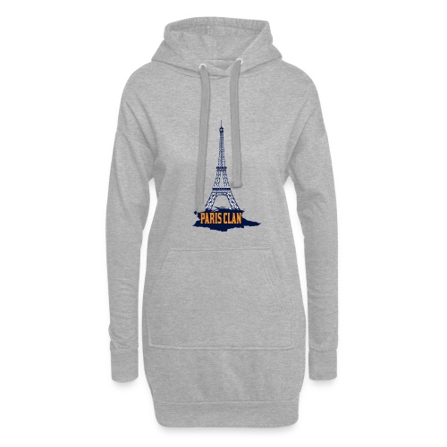 Paris Eiffel - Hoodie Dress