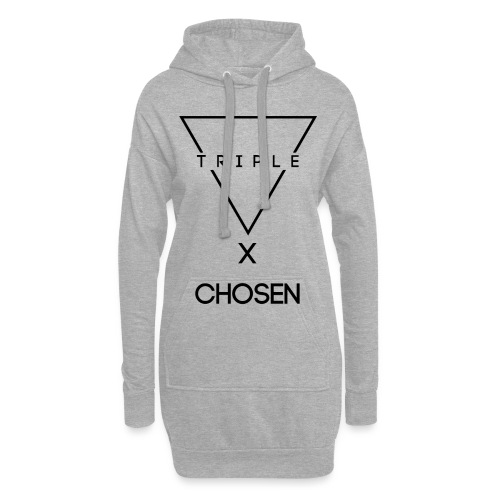 NEW TRIPLE LOGO Design X Chosen - Hoodie Dress