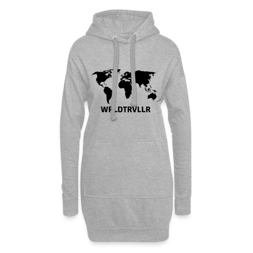 Worldtraveller - Hoodie-Kleid