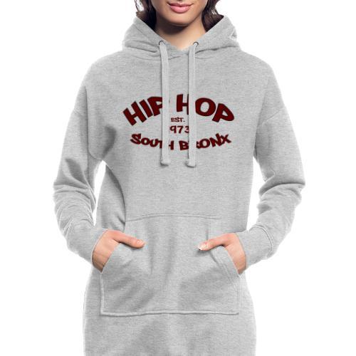 Hip Hop/Est.1973/South Bronx - Hoodie Dress