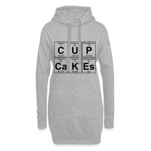 C-U-P-Ca-K-Es (cupcakes) - Full - Hoodie Dress