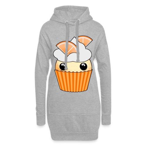 muffins apelsin orange med klyftor - Hoodie Dress