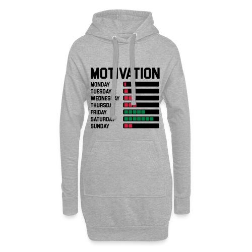 Wochen Motivation - Hoodie-Kleid