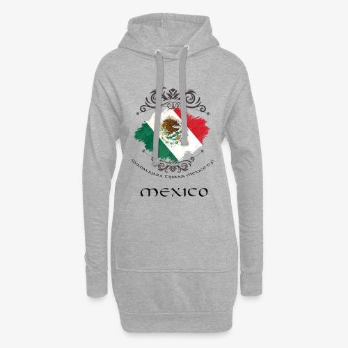 Mexico Vintage Bandera - Hoodie-Kleid