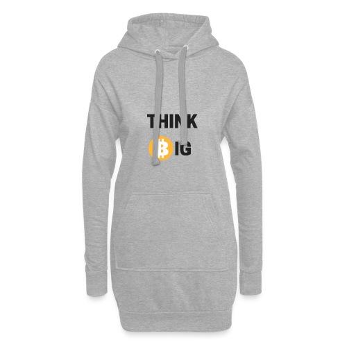 Think Big - Hoodie-Kleid