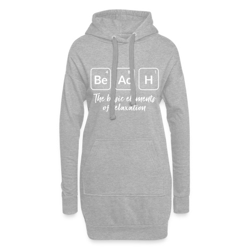 relaxation at the beach - Hoodie-Kleid