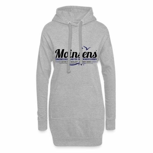 MOINSENS - Hoodie-Kleid