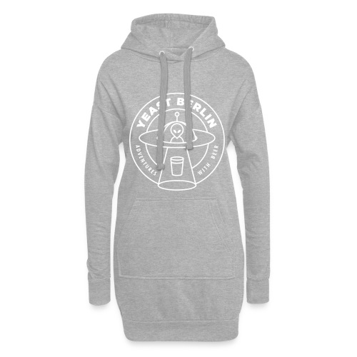 Yeast Berlin Original White Logo - Hoodie Dress