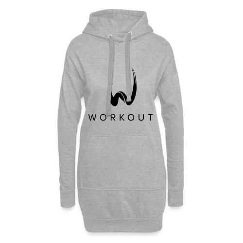 Workout mit Url - Hoodie-Kleid
