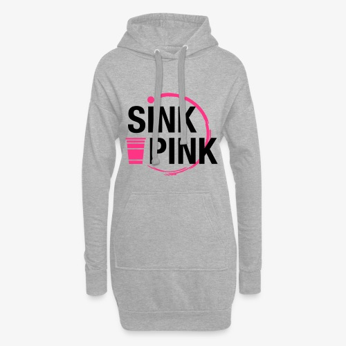 Sink Pink - Hoodie-Kleid