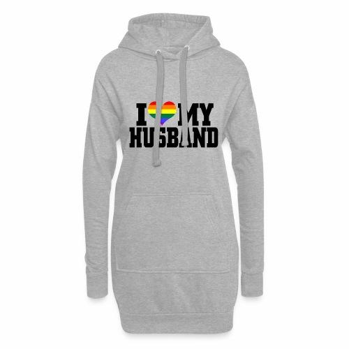 I Heart My Husband - Hoodie Dress