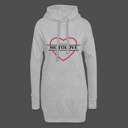 MOTO LOVE - Hoodie Dress
