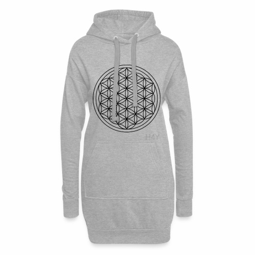 Flower Of Life - This Design Will Heal You - Hoodie-kjole