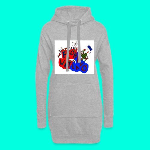 Frohe Watlavo - Hoodie-Kleid