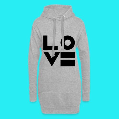 Love5 6 - Hoodie-Kleid