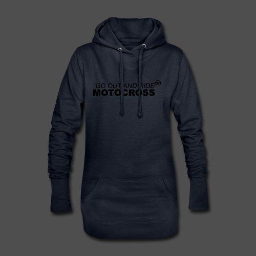 ride motocross bk - Hoodie-Kleid
