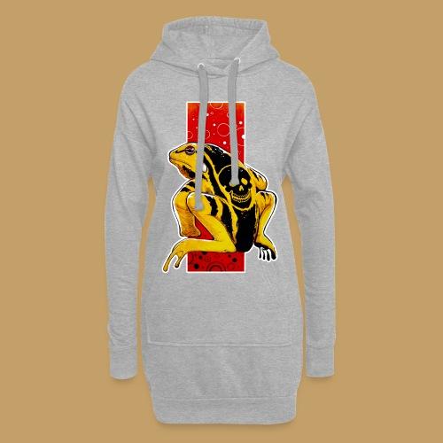 Death Frog - Długa bluza z kapturem