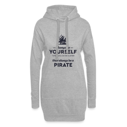 Be a pirate (dark version) - Hoodie Dress